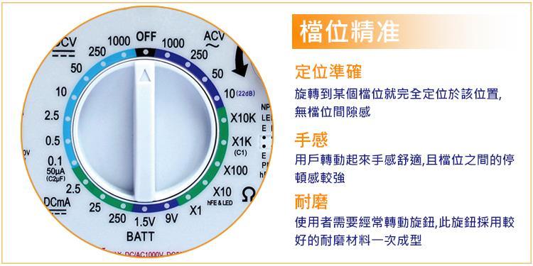 电阻,电晶体,二极体,led,电池,短路蜂鸣,10a档 中间零位元正负直流