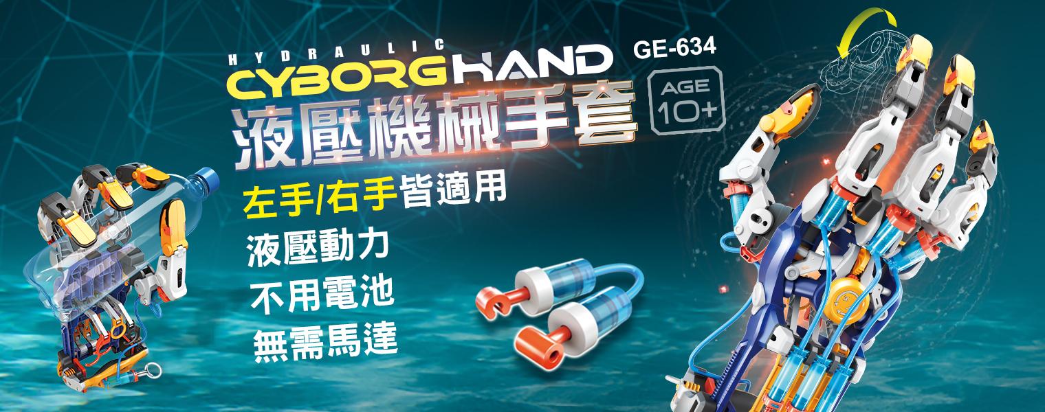 GE-634 液壓機械手套
