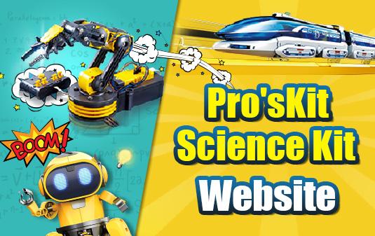 Pro'sKit Science Kit Website